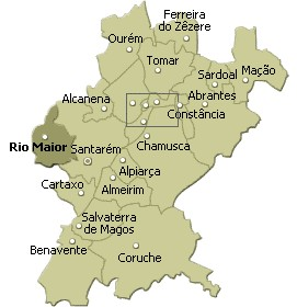mapa do concelho de rio maior Município de Rio Maior   Informação Geográfica mapa do concelho de rio maior